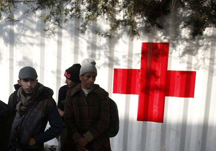 migranti, prihatni centar, preševo06_TANJUG_foto tanjug ap