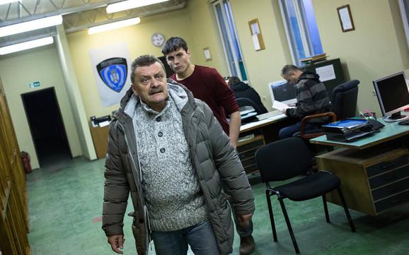 Dragan Vujić Vujke igra policijskog inspektora