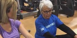 86-letnia mistrzyni poszła do pracy