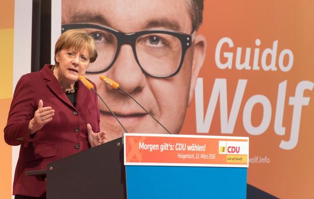 Niedzielne wybory w trzech landach uważane są za plebiscyt w sprawie polityki imigracyjnej kanclerz Merkel i jej rządu