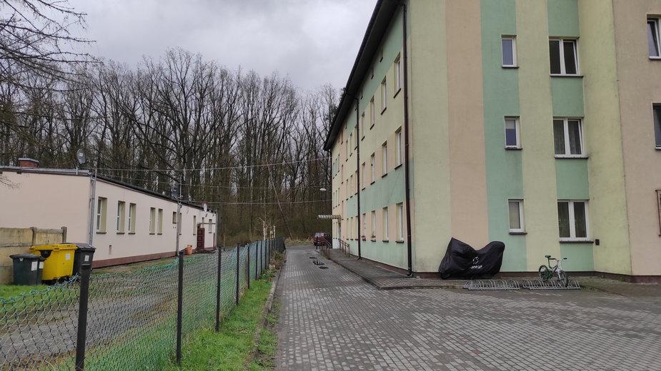 Budynki komunalne przy ulicy Elewatorowej 2 i 3 w Sieradzu