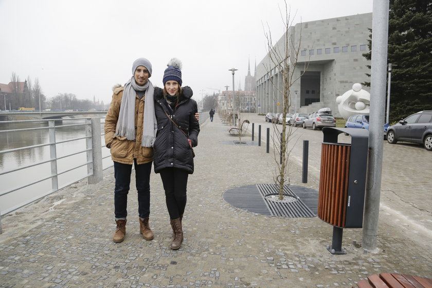 Agata Boruta (23 l.) i Alvaro Hidalgo (24 l.), studenci