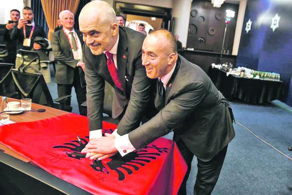 Edi Rama i Ramuš Haradinaj