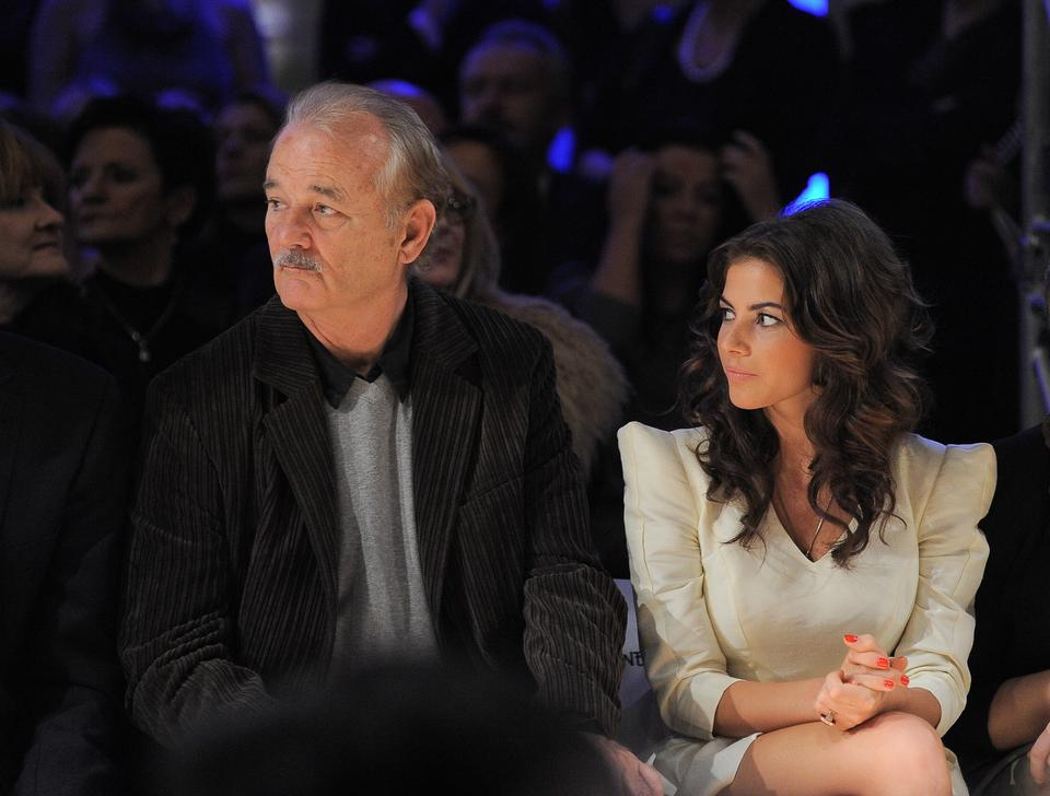 Weronika Rosati i Bill Murray