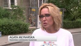Agata Młynarska: zarząd TVP ma prawo tworzyć i zdejmować programy. Podchodzę do tego bez emocji