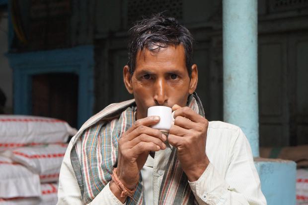Napój narodowy - chai (herbata z mlekiem i przyprawami)