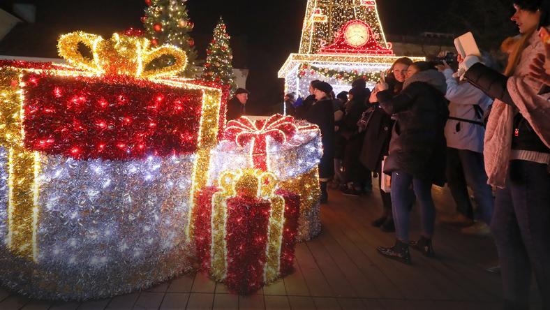 Warszawa Zainaugurowano świąteczną Iluminację Warszawa