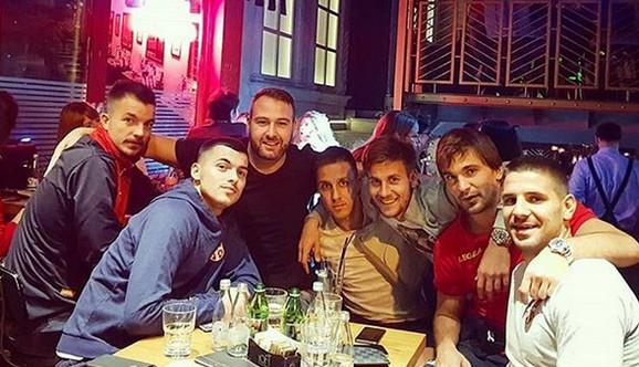Reprezentativci Srbije i Crne Gore veče uoči utakmice
