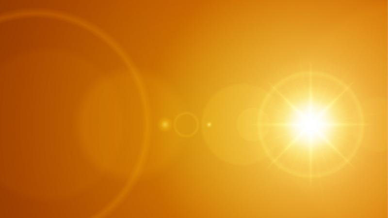 Tranzyt Merkurego na tle tarczy Słońca. Według Biblii może to być znak końca świata