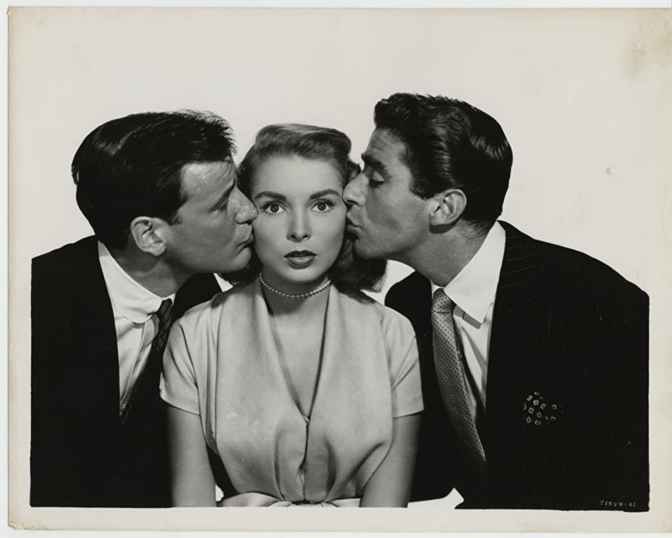 "Janet Leigh jako Lucille Duncan w filmi ""Just This Once"" (1952)"