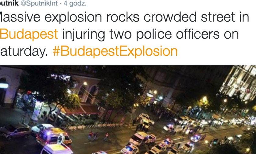 Zamach terrorystyczny Budapeszcie? Ranni policjanci