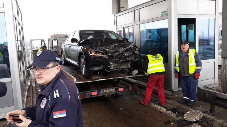 Lančani sudar u kom je povređen i Zoran Babić