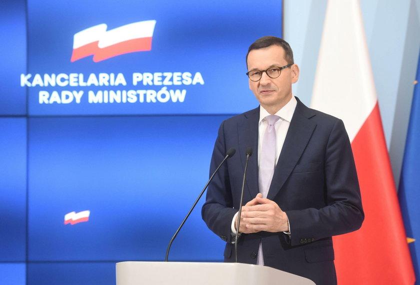 Premier Mateus Morawiecki zapewnia, że trzynastki będą wypłacone także w przyszłym roku