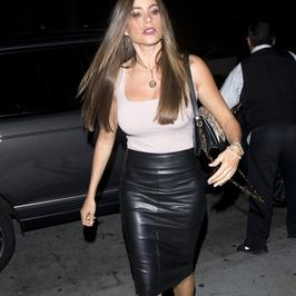 Sofia Vergara w bardzo obcisłej spódniczce. Wygląda seksownie?