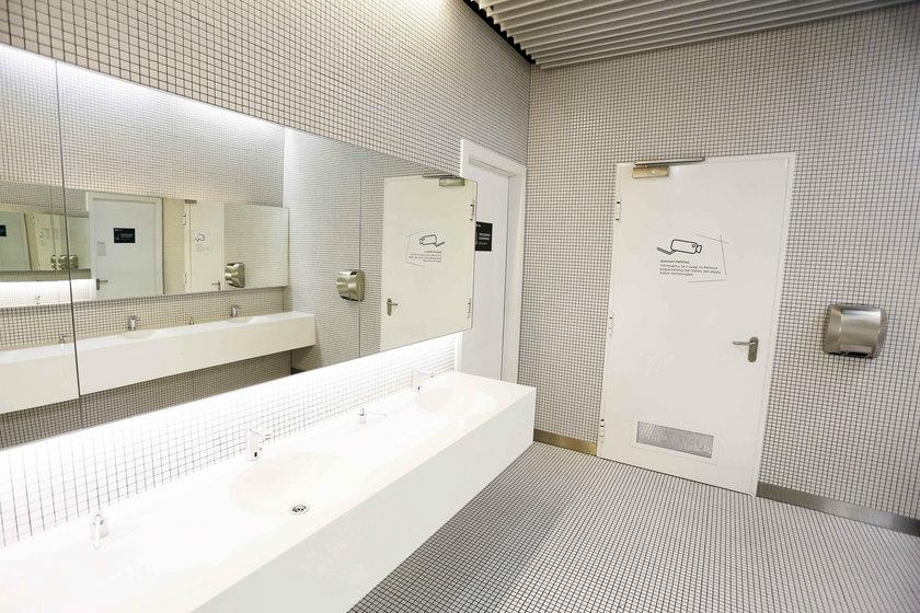 Toaleta w Galerii Katowickiej