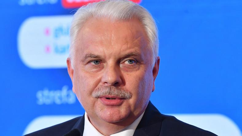 Wiceminister zdrowia Waldemar Kraska