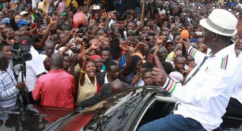 File image of Raila Odinga