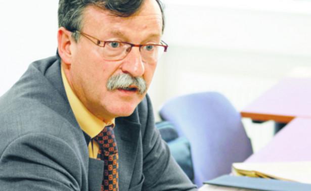 Prof. Wojciech Jan Katner, kierownik katedry prawa gospodarczego i handlowego Uniwersytetu Łódzkiego, sędzia SN. Fot. Marek Matusiak
