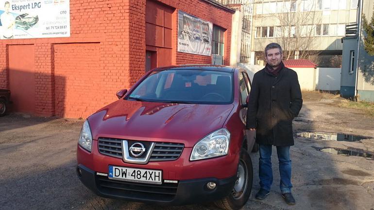 Nissan Qashqai 2.0 z instalacją LPG