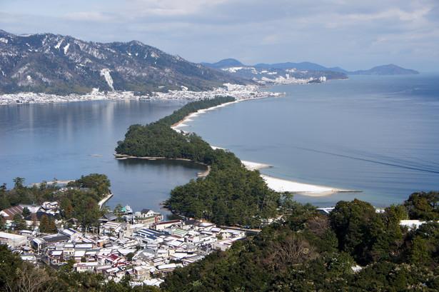 Japonia, mierzeja Amanohashidate, prefektura Kioto, fot. 663highland / licencja CC-BY-SA 3.0