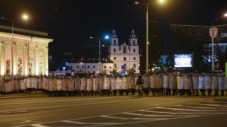 Napięcie na Białorusi