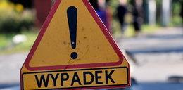 Groźna kraksa trzech osobówek w Gdyni