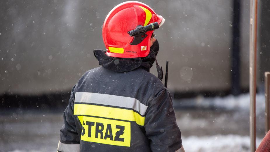 Pożar Straż pożarna