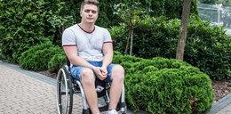 Jeszcze stanę na nogi! Filip po wypadku motocyklowym nie stracił woli życia!