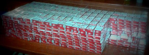 U tri dana oduzeto 1,1 milion cigareta