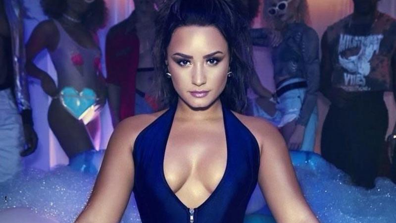 Demi Lovato w 2017 roku