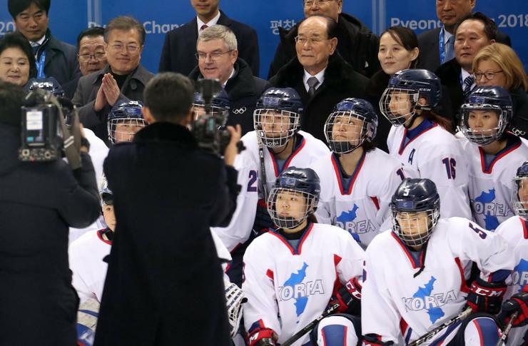 Hokejaški tim Južne i Severne Koreje
