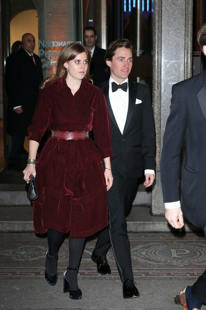 Princeza Beatris sa partnerom