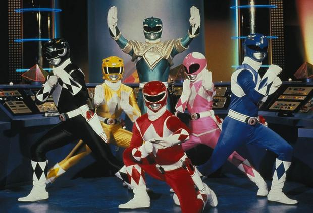 """Power Rangers"" - kadr z serialu"