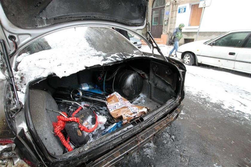 Zatrzymali podpalacza aut z Warszawy