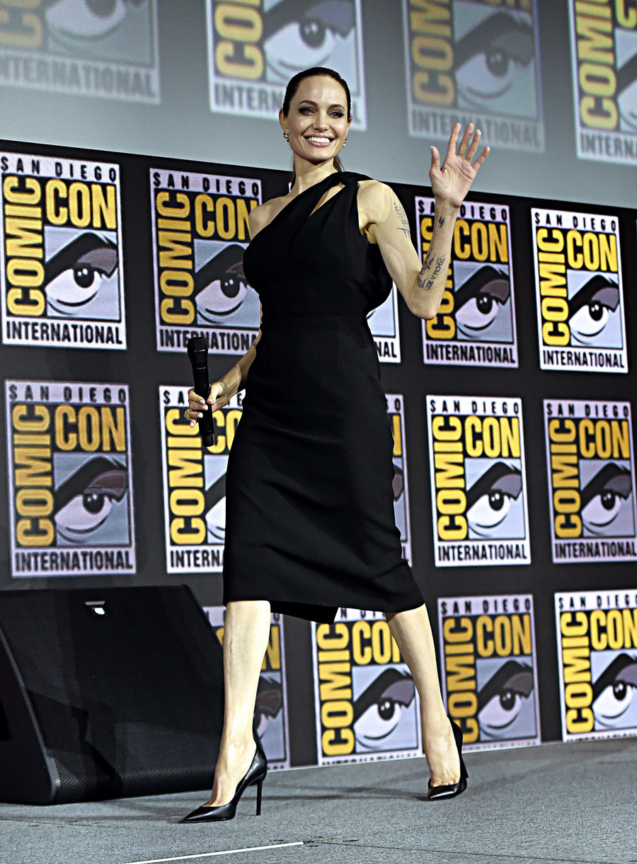 Angelina Jolie na Comic Con / Alberto E. Rodriguez / GettyImages