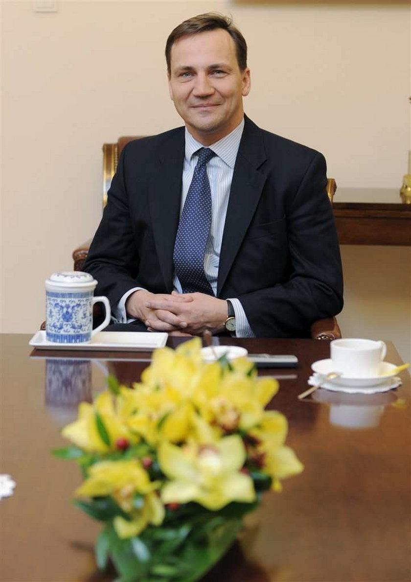 Radosław Sikorskie, minister spraw zagranicznych, msz