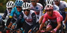 Uczestnicy Giro d'Italia nie narzekają na ciągłe testy na koronawirusa. Muszą jechać w sanitarnej bańce