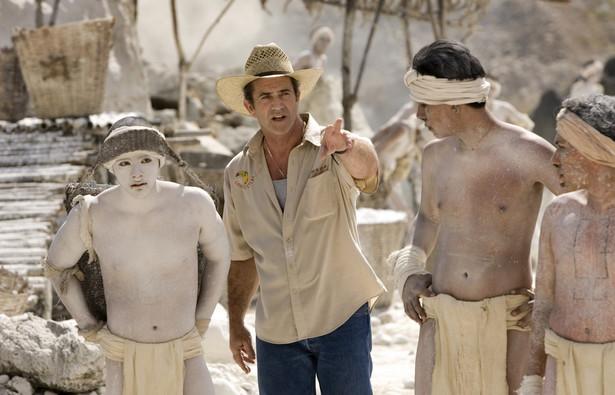 """Mel Gibson na planie """"Apocalypto"""""""