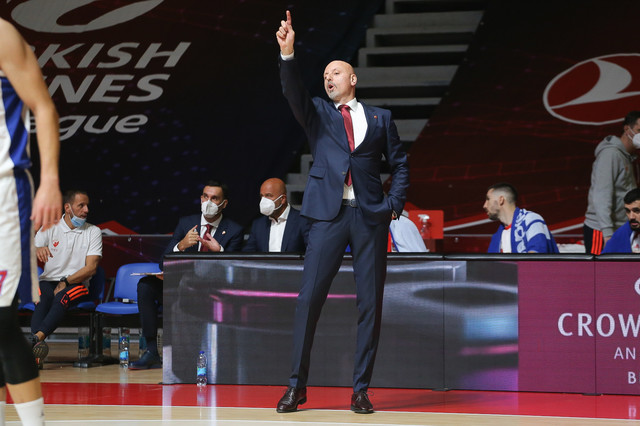 Saša Obradović je u svakom momentu organizovao igru svojih izabranika protiv CSKA