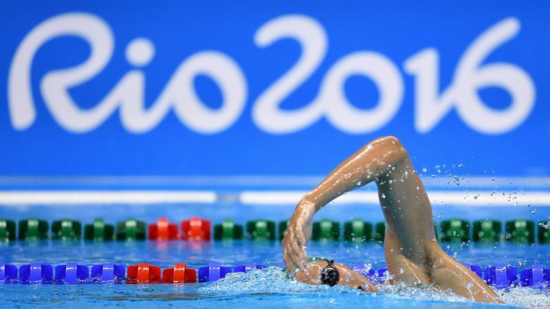 Rio pływanie