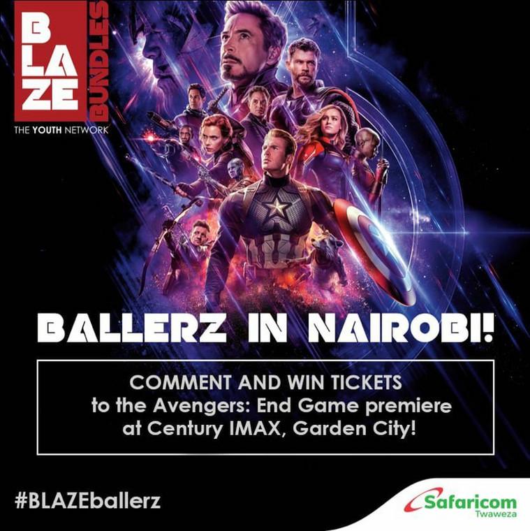 Blaze Avengers Endgame premier event (Courtesy)