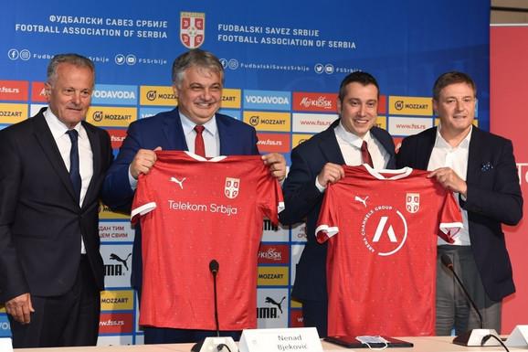 ISTORIJSKI UGOVORI - FSS, Telekom i Arena sporta za bolje sutra srpskog fudbala!