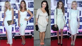 Gwiazdy na biało na konferencji TVP