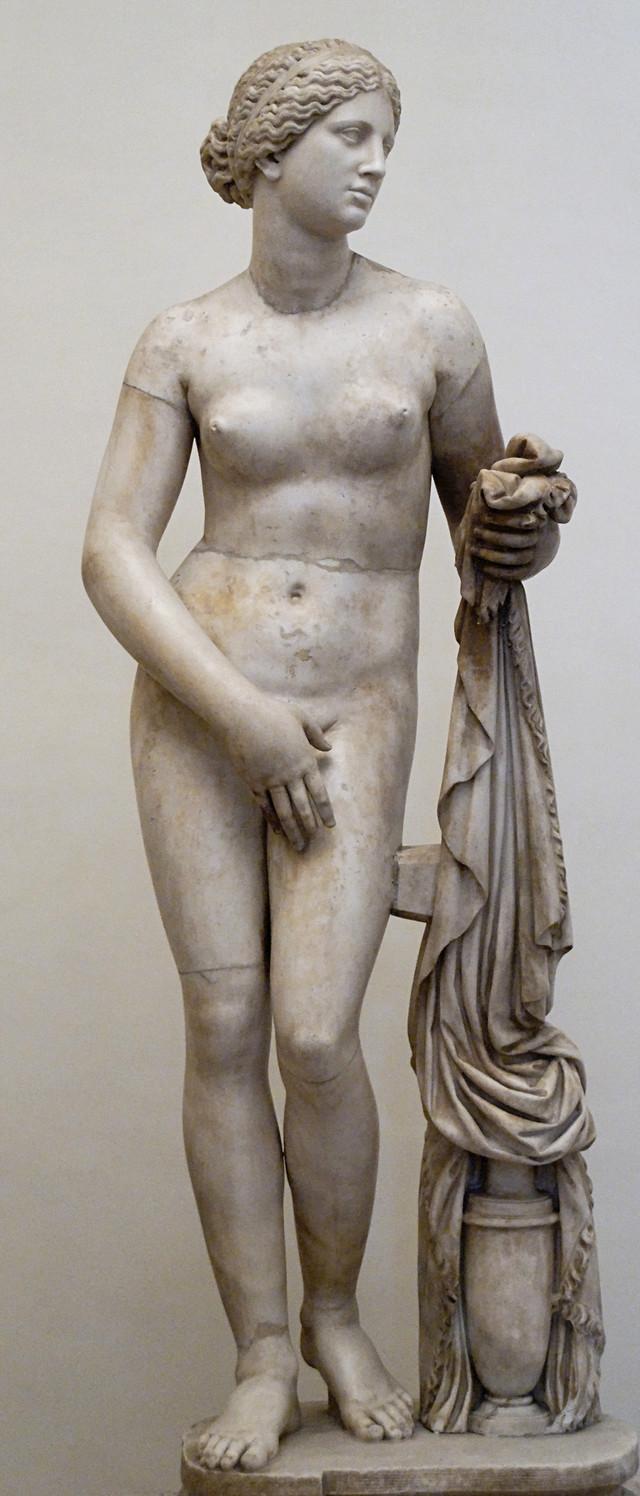Afrodita Kniđanska, kopija po Praksitelu, 4. vek