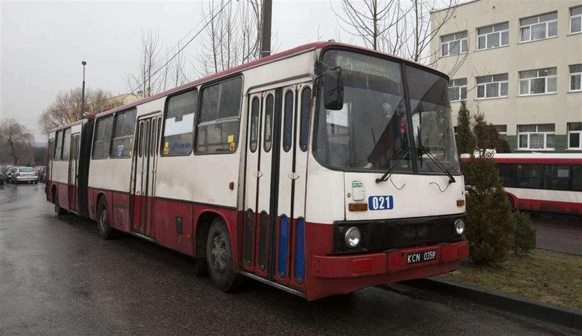 Stare autobusy w Sosnowcu
