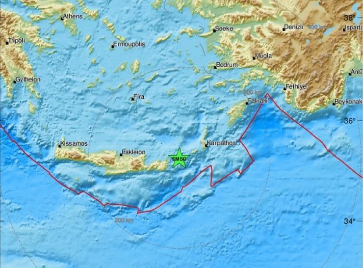 Zemljotres Krit 1112
