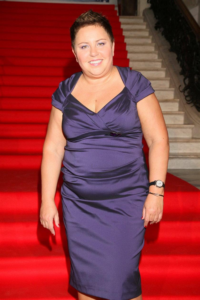 Dorota Wellman we wrześniu 2010 roku