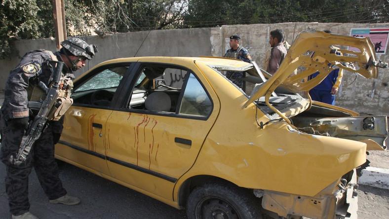 Seria zamachów w Bagdadzie
