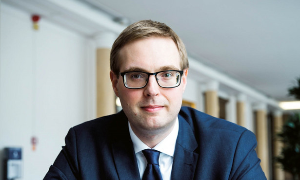 Jan Sarnowski, wiceminister finansów fot. Wojtek Górski