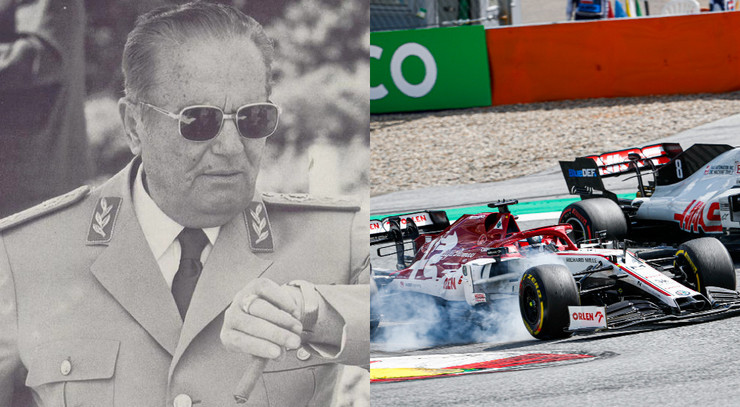 Josip Broz Tito, Formula 1